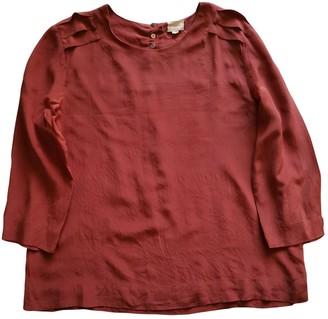Gat Rimon Red Silk Tops