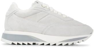 Santoni Tonal Low Top Sneakers