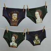 Tudor Twisted Twee Valentine Portrait Pants For Men And Women