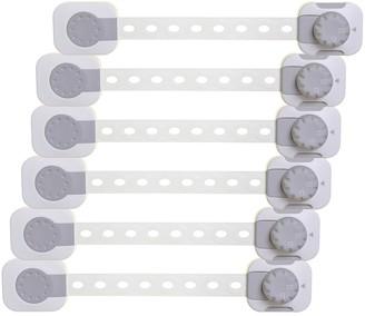 Dream Baby Dreambaby 6-Pack Twist 'N Lock Multi Purpose Baby Safety Latch