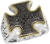 Effy Jewelry Balissima Black Diamond Ring, .23 TCW