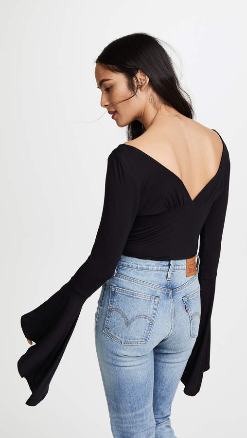 Free People What a Babe Top