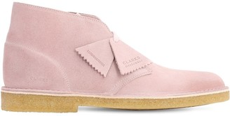 Clarks Lvr Exclusive 25mm Suede Desert Boot