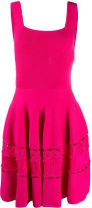 Alexander McQueen a-line short dress