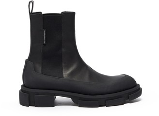 both 'Gao Chelsea leather chunky boots
