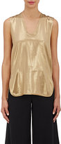 Zero Maria Cornejo Women's Ony Silk Tank-GOLD