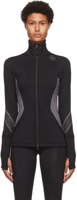adidas by Stella McCartney Black and Grey Zip Cold RDY Sweatshirt