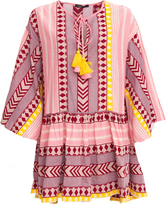 Devotion Short Zakar Loanna Dress Pink/ Yellow - S