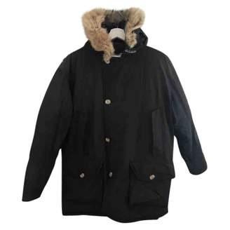 Woolrich Navy Cotton Jackets