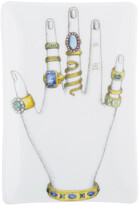 Fornasetti Mano con anelli Rectangular Ashtray/Trinket Tray - Colour