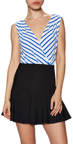 Bailey 44 Stripe Surplice Top