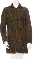 Christian Lacroix Tweed Mock Neck Jacket