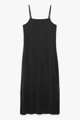 Monki Side slit dress