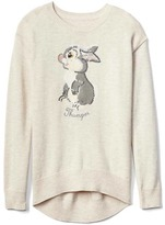 Gap GapKids | Disney Bambi embellished graphic hi-lo sweater