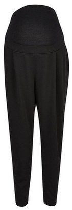 Dorothy Perkins Womens **Maternity Black Scuba Crepe Trousers, Black