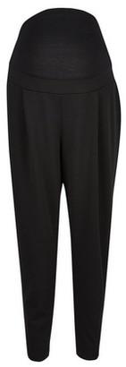 Dorothy Perkins Womens Dp Maternity Black Scuba Crepe Trousers, Black