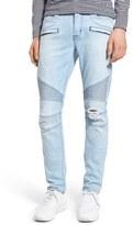 Hudson 'Blinder' Skinny Fit Moto Jeans (Utilitaria)