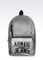 Armani Jeans Packable Backpack In Technical Fabric