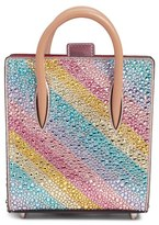 Christian Louboutin Nano Paloma Rainbow Crossbody Bag - Pink