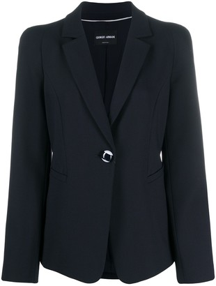 Giorgio Armani Single-Breasted Blazer
