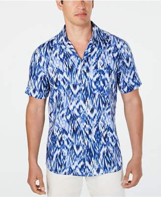 Tasso Elba Men Utata Ikat Linen Shirt