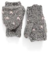 Rebecca Minkoff Heart Stitch Pop Top Mittens