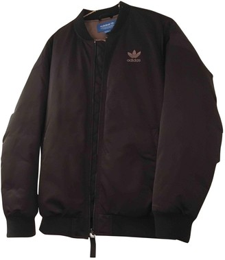 adidas Black Leather Jacket for Women