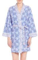 Oscar de la Renta Pima Cotton Robe
