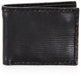 John Varvatos Braided Edge Slim Folding Wallet