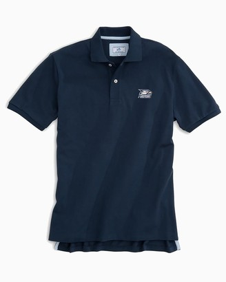 Southern Tide Georgia Southern Pique Polo Shirt