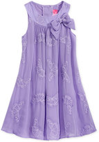 Good Lad Embroidered Butterfly Sheath Dress, Little Girls (2-6X)