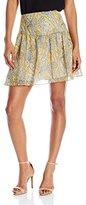 Twelfth Street By Cynthia Vincent Women's Shirred Flirt Skirt