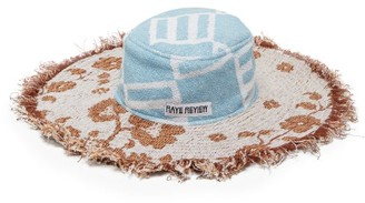 Rave Review - Hatty Floral Cotton Terry-towelling Hat - Multi