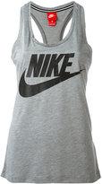 Nike logo print tank - women - Polyester/Modal - S