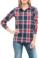Lee One Pocket Check Shirt, State Blue