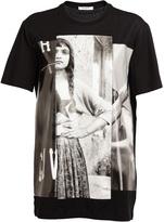Givenchy photographic girl printed t-shirt