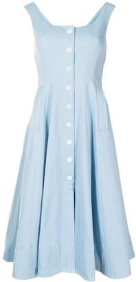 STAUD Loretta swing dress