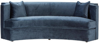 Mr & Mrs Howard Arc Sofa - Navy Velvet