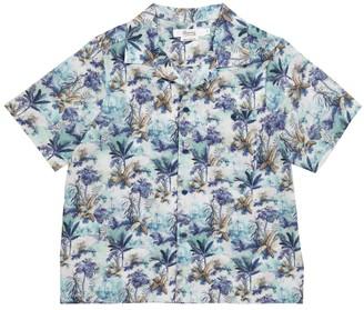 Bonpoint Steve floral cotton shirt