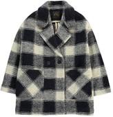 Des Petits Hauts Philibert Check Wool Coat