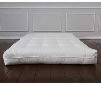 """Alwyn Home Geno Luxury Natural Wool 8"""" Foam Core Futon Mattress Alwyn Home Size: Twin"""