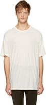 Alexander Wang White Pilled T-Shirt