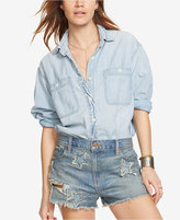 Denim & Supply Ralph Lauren Chambray Boyfriend Workshirt