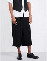 Yohji Yamamoto Wide-leg Woven Trousers