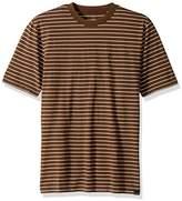 Quiksilver Men's Lazy Laguna Stripe SS Tee Knit T-Shirt