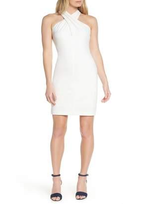 Eliza J Halter Sheath Dress