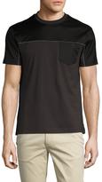 Prada Contrast Crewneck T-Shirt