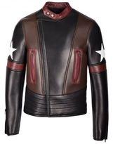 Givenchy Star Patch Biker Jacket