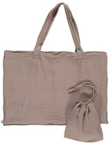 Numero 74 Cotton shopping bag and envelope - Gray