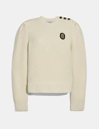 Coach Full Sleeve Crewneck Sweater